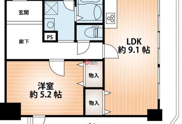 日本大阪府Osaka的房产,大阪市大正区三軒家東1,编号46302856