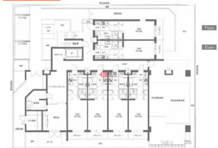 日本Tokyo PrefectureItabashi-ku的商业地产,7-27,编号57299092