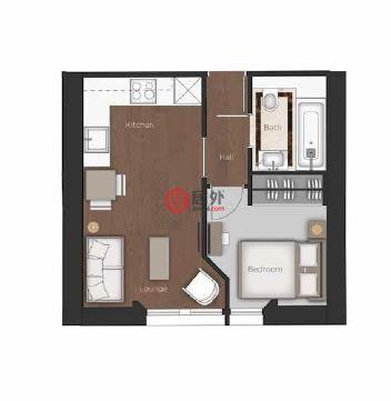 英国英格兰伦敦的房产,23 Garden House,编号51608732