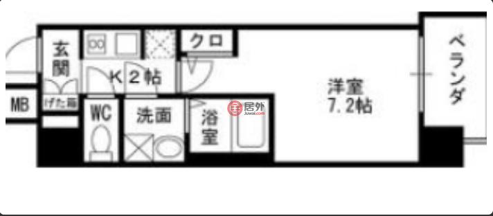 日本大阪府大阪市的房产,玉川,编号51786121