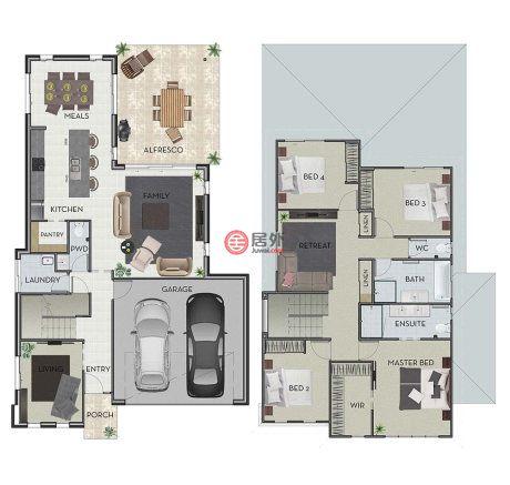 澳大利亚维多利亚州波因特库克的新建房产,编号43276375