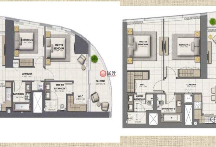 阿联酋迪拜迪拜的房产,编号51753777