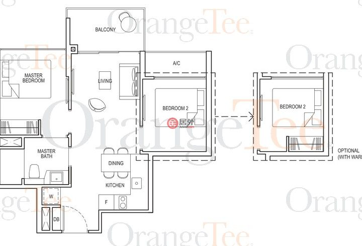 新加坡SingaporeSingapore的房产,1 Bedok South Ave 3,编号54835948