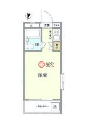 日本東京都Tokyo的房产,中村北4-7-1,编号47287194