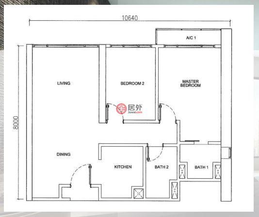 马来西亚Kuala Lumpur吉隆坡的房产,BUKIT BINTANG,编号45266883