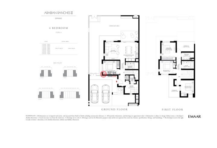 阿联酋迪拜迪拜的房产,Spring别墅,编号55362631