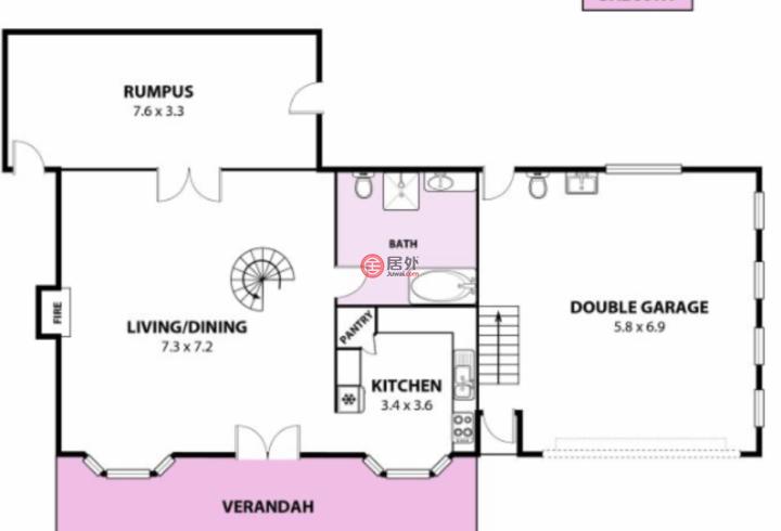澳大利亚新南威尔士州伍伦贡的房产,Morrison Avenue (lot A, 44),编号54943100