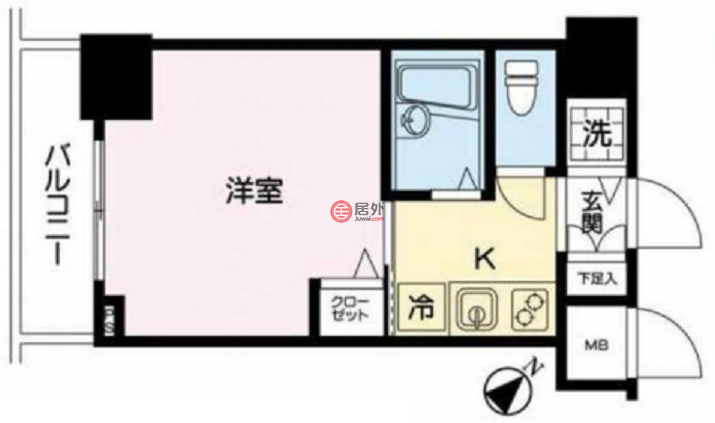 日本TokyoChuo-ku的房产,二丁目,编号50757243