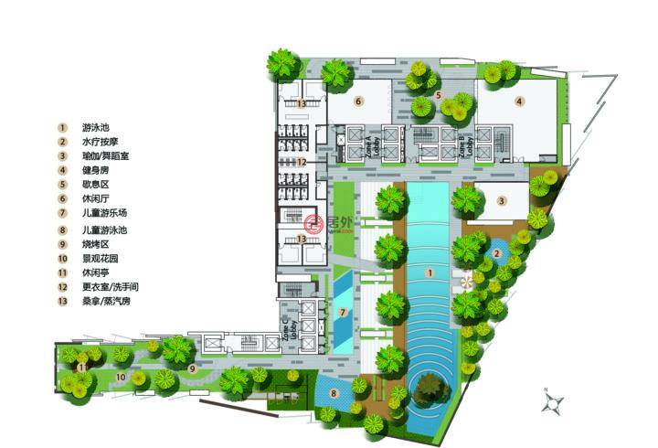 马来西亚Wilayah PersekutuanKuala Lumpur的房产,Changkat Raja Chulan,编号55898594
