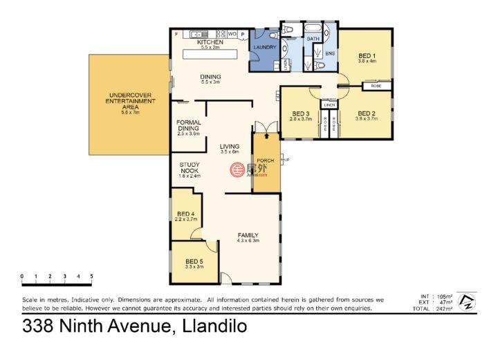 澳大利亚新南威尔士州Llandilo的土地,338 Ninth Avenue,编号48619543