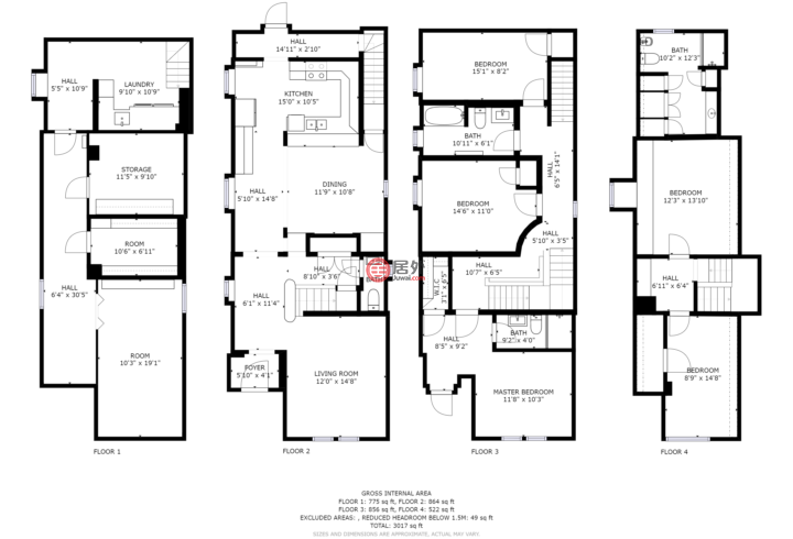 加拿大安大略省渥太华的房产,Maclaren,编号51370316