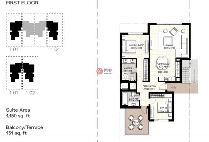 阿联酋迪拜迪拜的联排别墅,伊玛尔南区,编号55890920