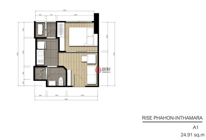 泰国Bangkok曼谷的房产,Phaya Thai,编号43032450