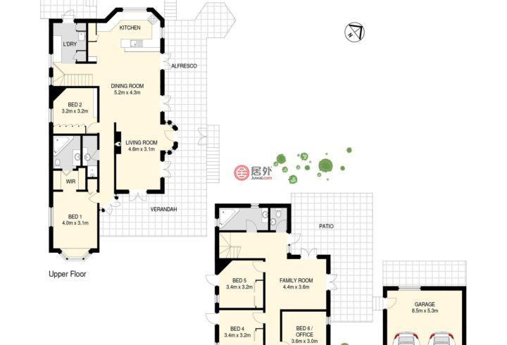 澳大利亚昆士兰Paddington的房产,30 Hayward Street,编号48057206
